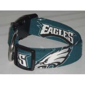 Philadelphia Eagles Football Dog Collar X Small 3/4