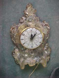 B4 Vintage Lanshire Electric Mantel shelf clock rock US