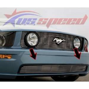 2005 UP Ford Mustang GT Polished Billet Grille Lower