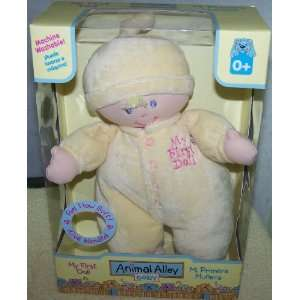 Animal Alley baby *My First Doll* Yellow Toys & Games