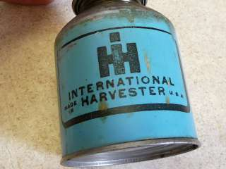 Harvester Farm Tractor Oil Can Oiler Cooley West Bend WI NR