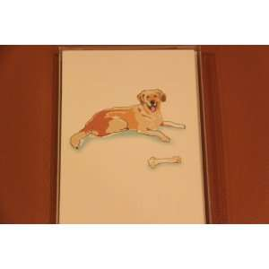 Golden Retriever Dog Pride Boxed Note Cards (6 cards