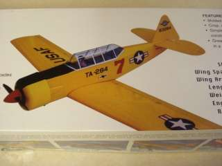 ACE R/C NORTH AMERICAN AT 6 TEXAN R/C MODEL AIRPLANE KIT ** NEW IN