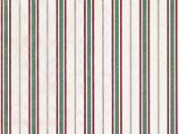 WALLPAPER RED, GREEN, GOLD, AND WHITE SILK STRIPE