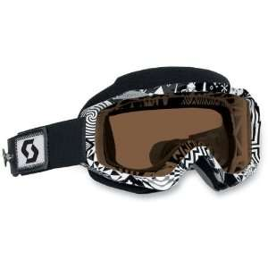 Scott USA Hustle Speed Strap Goggles , Color Voodoo
