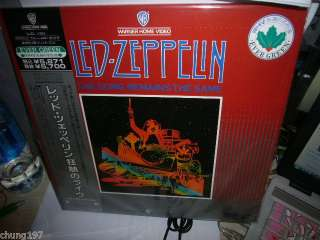 LED ZEPPELIN THE SONG REMAINS THE SAME JAPAN LD 5871yen