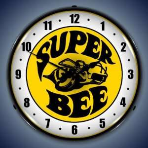 Super Bee Lighted Clock