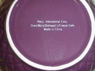 RECO INTERNATIONAL PURPLE BATTER MIXING BOWL MIX & POUR