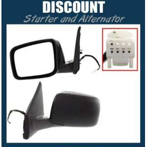 New Driver Side Mirror LH 2008 2011 Nissan Rogue, Power