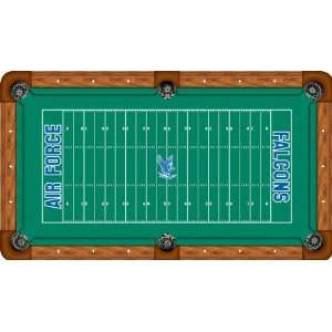 Air Force Pool Table Felt   Professional 7ft   Football Field