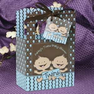 Twin Modern Baby Boys Caucasian   Classic Personalized Baby Shower