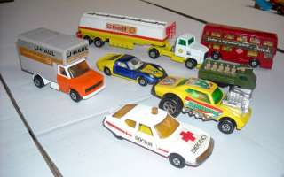 Vintage 60s 1970s Matchbox Superfast Car Truck 100pc Diecast