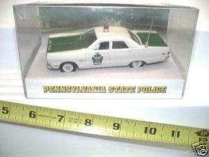 1969 PLYMOUTH PENNSYLVANIA STATE POLICE CAR MINT BOXED