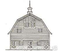 Farm Buidlings House Barn Architecture Floor Plans