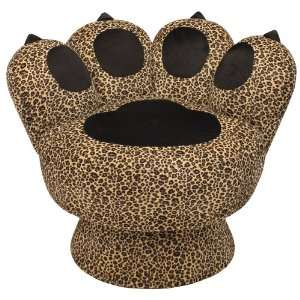 Paw Chair Leopard