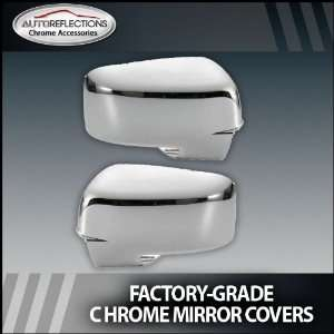 2009 2012 Dodge Ram Chrome Mirror Covers (Full) With