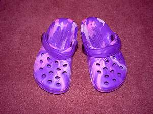 NEW KIDS GIRLS FANCY CLOGS SHOES SIZE 6, 9