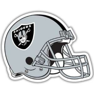 Oakland Raiders NFL Football car bumper sticker 5 x 4