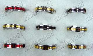 wholesale lots 100pcs Fashion stainless steel ring FREE