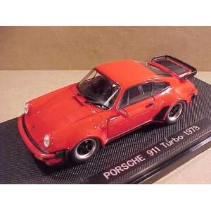 Diecast Model, 1978 Porsche 911 Turbo in red 44142 Toys & Games