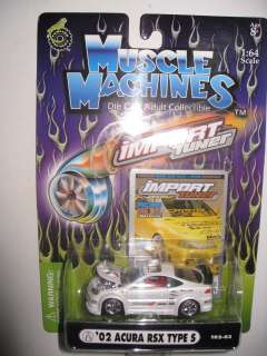 Rare Collector Muscle Machines Import Tuner HOT Car 164 Wheels