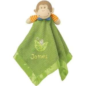 Personalized Friendly Monkey Blanket