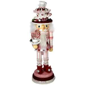 Hollywood Nutcrackers Kurt Adler 15 Inch Hollywood Pink Candy Cake