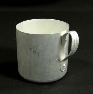 WWII GERMAN WEHRMACHT ARMY SOLDIER MESS KIT DRINKING SHAVING MUG CUP