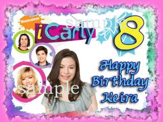 ICARLY Edible CAKE Image Icing Topper Party Supplies