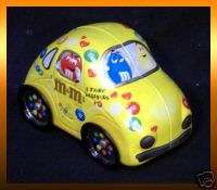 Mars VOLKSWAGEN BEETLE Luv Bug Tin Car Yellow