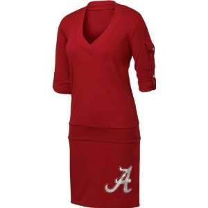 Crimson Tide Womens Crimson Drop Waist Dress