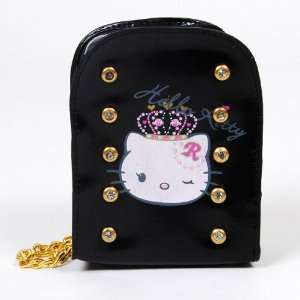 Hello Kitty Digital Camera Case Bag Pouch Black