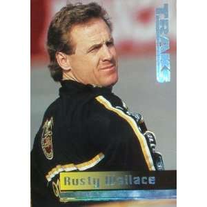1995 Traks 75 Rusty Wallace (Racing Cards) Sports