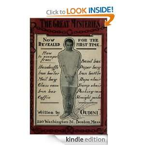 Great Mysteries (ILLUSTRATED) Harry Houdini  Kindle Store