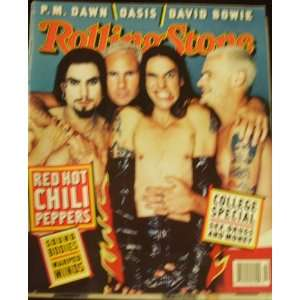 Rolling Stone Magazine Red Hot Chili Peppers Back Issue