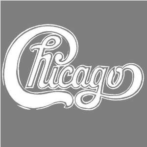 CHICAGO (WHITE) DECAL STICKER WINDOW CAR TRUCK TRAILER