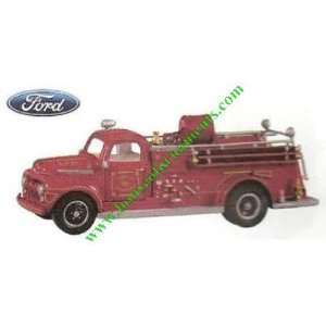 FIRE BRIGADE   8TH   1951 FORD FIRE ENGINE   HALLMARK