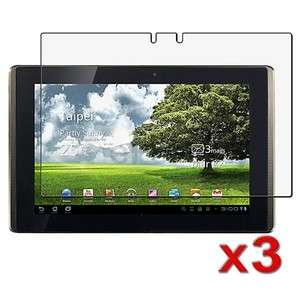 3x 10.1 Anti Glare LCD Screen Protector Film Guard For Asus Eee Pad