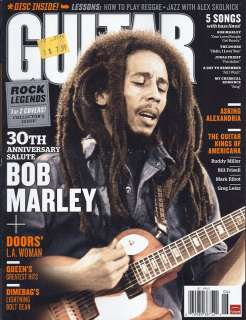 Guitar World Magazine June 2011 + CD Bob Marley 1 of 2