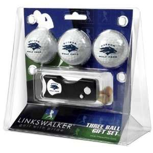 Nevada Wolf Pack NCAA Spring Action 3 Golf Ball Gift Packs