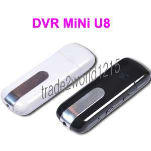NEW USB Flash Drive Spy Camera DVR USB Disk Video
