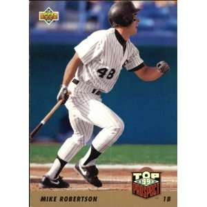 1992 UPPER DECK Mike Robertson # 448