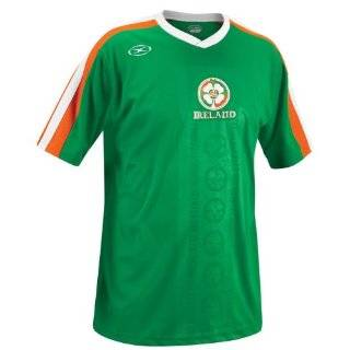LADIES,WOMENS, & GIRLS IRELAND SOCCER JERSEY SIZE SMALL (SEXY STRETCH