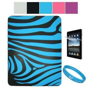 Zebra Design Protective Soft Silicone Skin Cover for Apple iPad