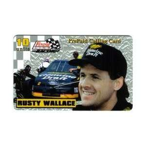 10u Platinum Series Rusty Wallace (Miller Draft Beer) Printers Proof
