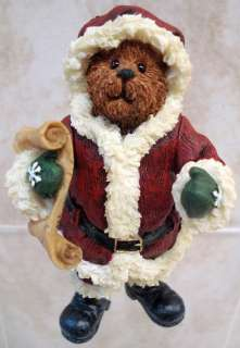 BOYDS BEARS Alvin Elfbeary Resin CHRISTMAS Elf 1E 3245