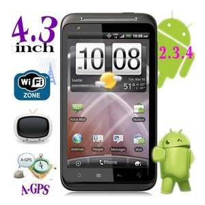Android 2.2 Unlocked Dual Sim Quad Bands A GPS/TV/WIFI Touch