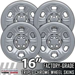 05 10 NISSAN XTERRA 16 Chrome Wheel Skin Covers Automotive