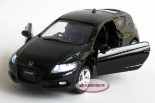 Honda CR Z Alloy Diecast Model Car With Sound&Light Black B220c