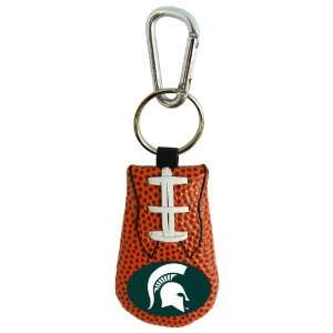 NCAA Michigan State Spartans Classic Football Keychain